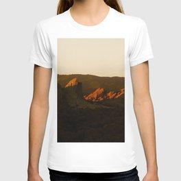 Last Light at Vasquez Rocks T-shirt