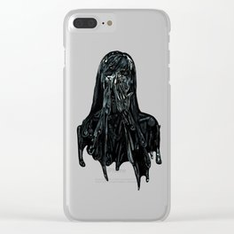 Tar Road Clear iPhone Case