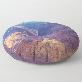 Grand Canyon and the Colorado River Floor Pillow