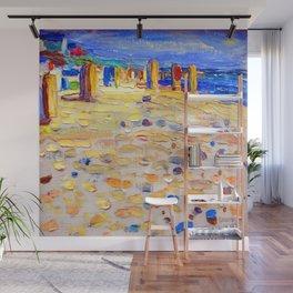 Wassily Kandinsky Beach Scene Wall Mural
