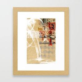 MINNESOTA BOPPER Framed Art Print