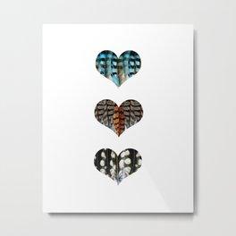 I Love Birds No.1 Metal Print