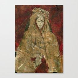 Hommage à Frida Kahlo V Canvas Print