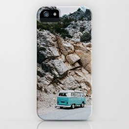 Classic Campervan Adventures iPhone Case