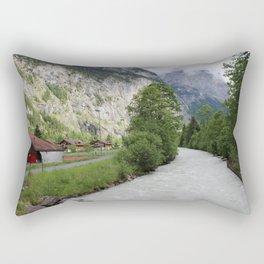 Switzerland Lauterbrunnen Rectangular Pillow