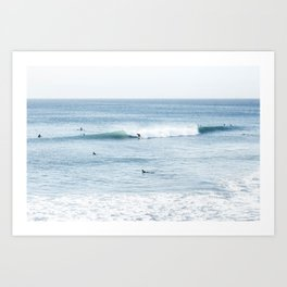 Huntingon Beach, California Art Print