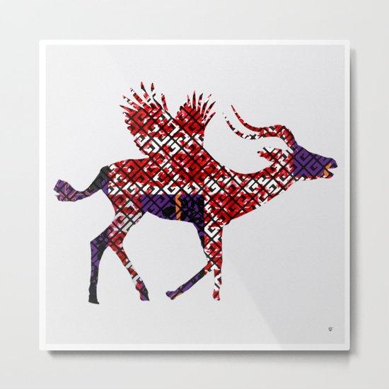 FabCreature · AntiLoFly Metal Print