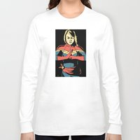 captain Long Sleeve T-shirts featuring Captain by Shop 5