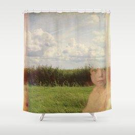 Memory 02 Shower Curtain