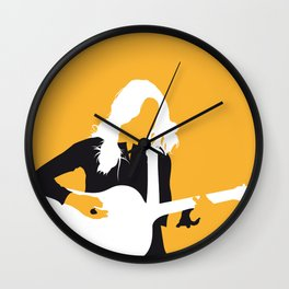 No074 MY Sheryl Crow Minimal Music poster Wall Clock