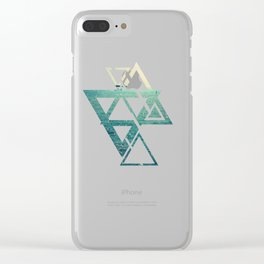 Sea is Always in your Mind Clear iPhone Case