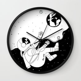Reconnect to your planet! Wall Clock