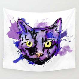 Gato color Wall Tapestry