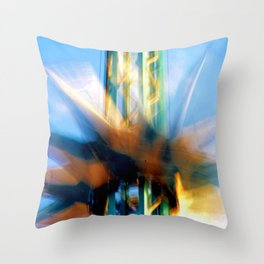 Tower Of Thrills I Throw Pillow