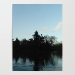 Nature, landscape and twilight 4 Poster