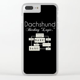 Barking is the Option Clear iPhone Case