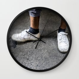 Fancy Footwork Wall Clock