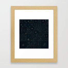 HUDs 017 Framed Art Print
