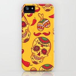 Sugar Skull Party iPhone Case