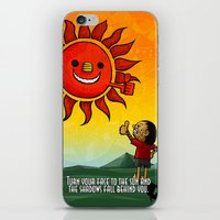 maori iPhone & iPod Skins featuring Maori & Sun by Noah's ART