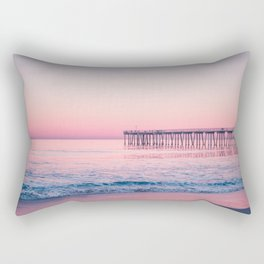 Hermosa Beach, USA #society6 #decor #buyart Rectangular Pillow