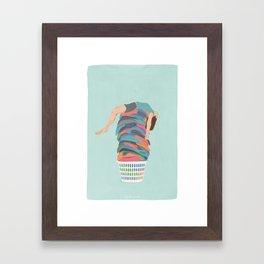 Laundry Day Framed Art Print