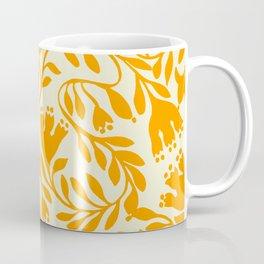 Impression indienne yellow sun. Coffee Mug