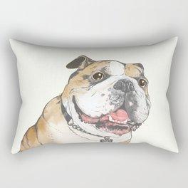 bulldog  Rectangular Pillow