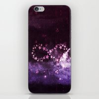 infinity iPhone & iPod Skins featuring INFINITY by Monika Strigel