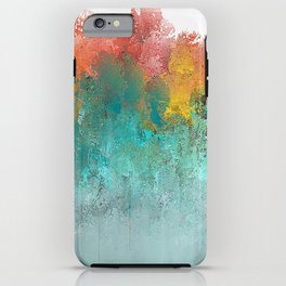 Water Flowing Up iPhone Case