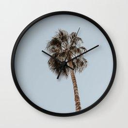 palm tree ii Wall Clock