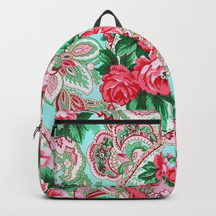 Floral Paisley Pattern 01 Backpack