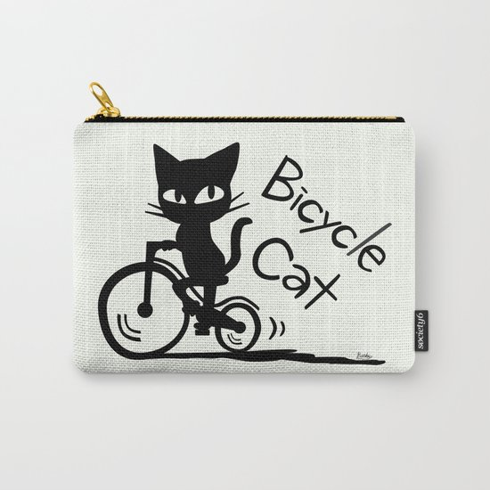 Bicycle Cat Carry-All Pouch