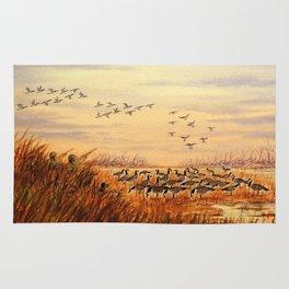 Goose Hunting Companions Rug