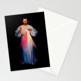 Kazimirowski  and Kowalska- The image of merciful Jesus Stationery Cards