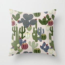 Desert Vibrance Throw Pillow