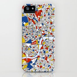 London Mondrian iPhone Case