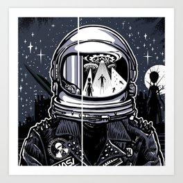I Hate Aliens Art Print