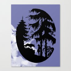 The Plea Canvas Print