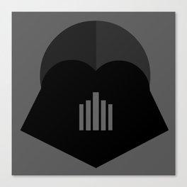 Darth Vader in 2D Canvas Print