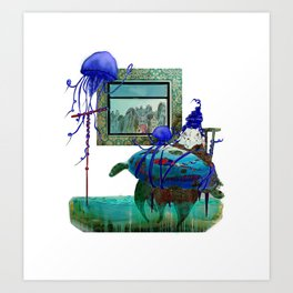 Caretta Art Print