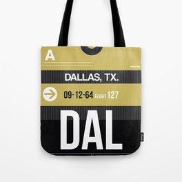 DAL Dallas Luggage Tag 2 Tote Bag