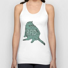 Rad Cat Unisex Tank Top