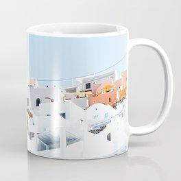 Lost in Santorini Greece Coffee Mug