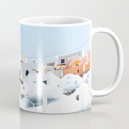 Lost in Santorini Greece Coffee Mug