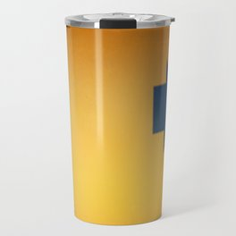 Abstract Signage Travel Mug