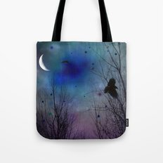 Just Around Midnight Tote Bag