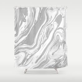 Marble - Grey Wash Shower Curtain