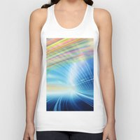 halo Tank Tops featuring Colorful Halo by Tom Lee