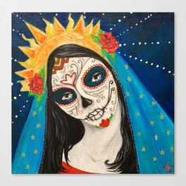 Mary Muerta Canvas Print